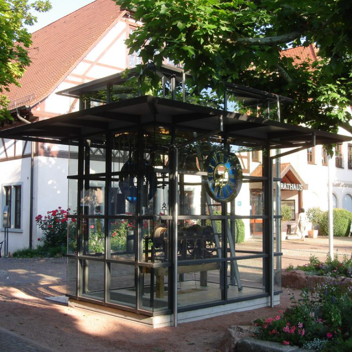 Pavillon-Kirchturmuhr-Immenstaad